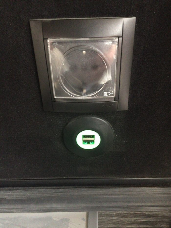 SOCKET – USB CHARGER